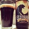 Elysian dark o the moon pumpkin stout #beer #stout #pumpkinbeer #pumpkinstout #elysianbeer