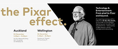 Want to hear from the Co-founder of Pixar and Altamira in person? He will be here, in New Zealand (Auckland and Wellington), this December.