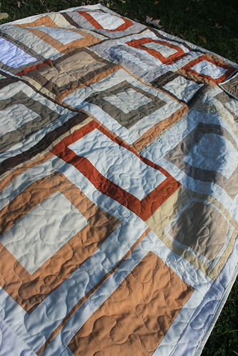 Fall Neutral Frames Quilt