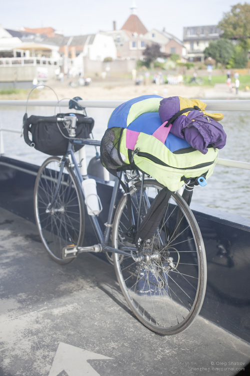 Bicycle on ferry