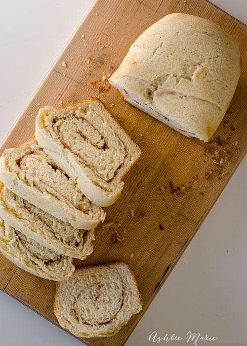 homemade cinnamon swirl bread recipe