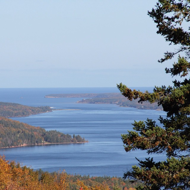 From the Bras d'Or look off #capebreton