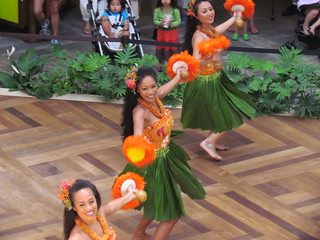 Hula demonstration at Ala Moana