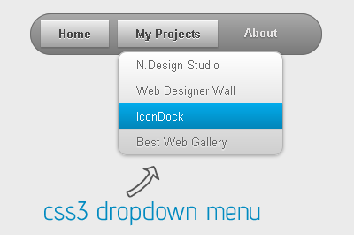 Create CSS3 Drop Down Menus for Blogger and WordPress!