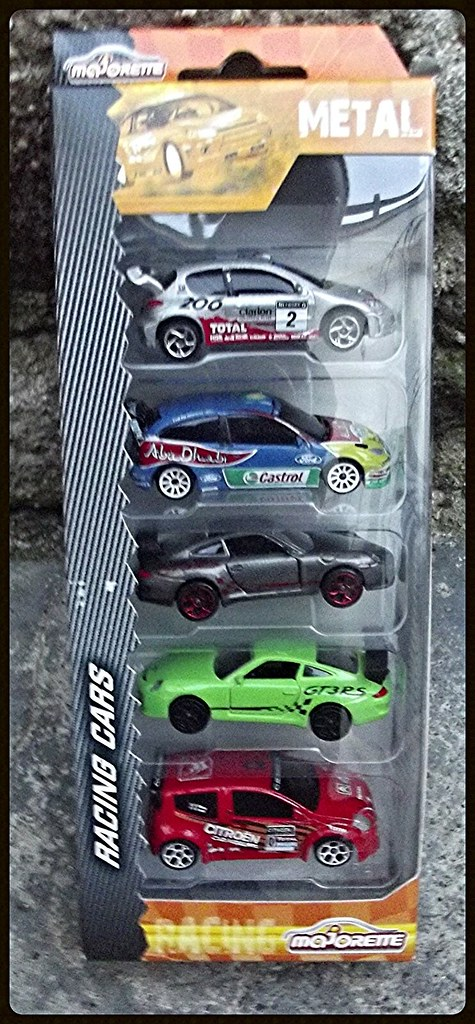Packs 5 voitures Racing Cars. 15438232989_362fdd7a92_b