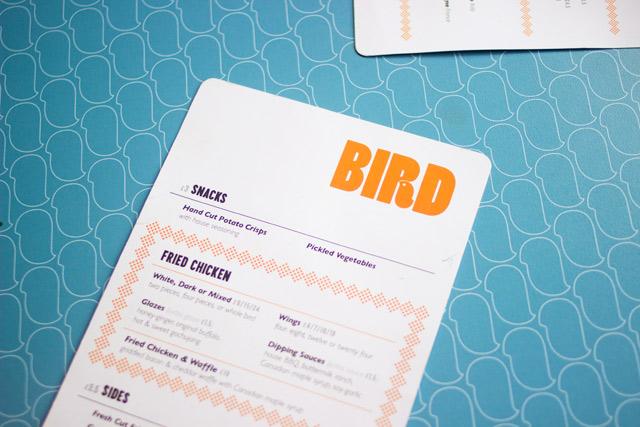 BIRD free-range fried chicken in London