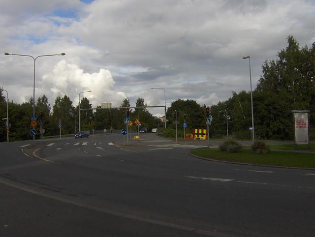 Hämeenlinnan moottoritiekate ja Goodman-kauppakeskus: Työmaan lähtötilanne 3.9.2011 - kuva 4