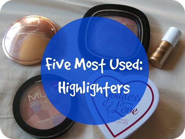 Five Most Used Highlighters