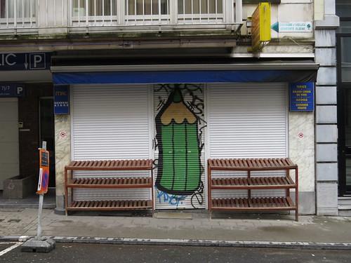 Pencil streetart