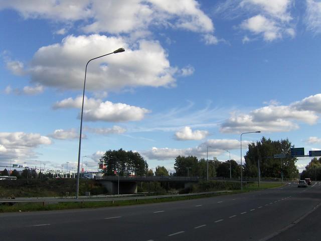 Hämeenlinnan moottoritiekate ja Goodman-kauppakeskus: Työmaatilanne 11.9.2011 - kuva 5