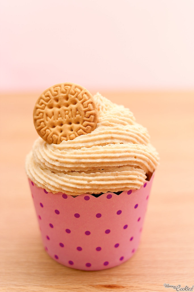 Cupcake de Galleta María