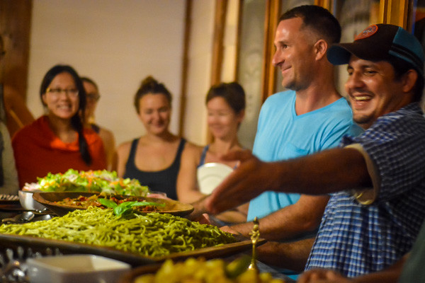 Food at Yoga Teacher Training in Costa Rica