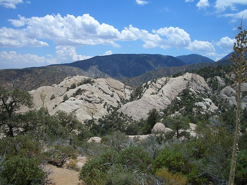 San Gabriel Mountains of Los Angeles County, CA. USDA USFS photo.