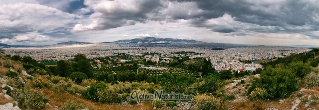 view 0000 Oros Egaleo hills, Athens, Greece