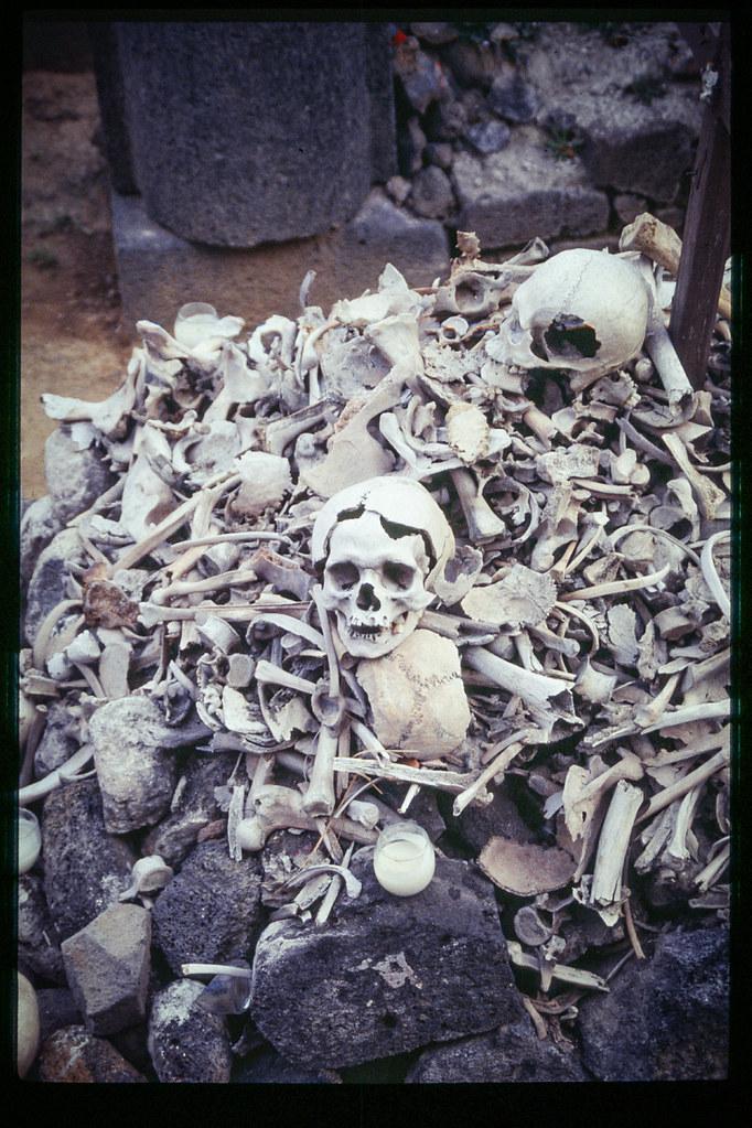 Fete des morts à Mexico - Crânes et squelettes humains