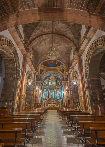 San Miguel Arcangel Interior by Geoff Livingston