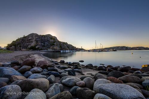 Kjerringvik Boat Harbour at Dawn