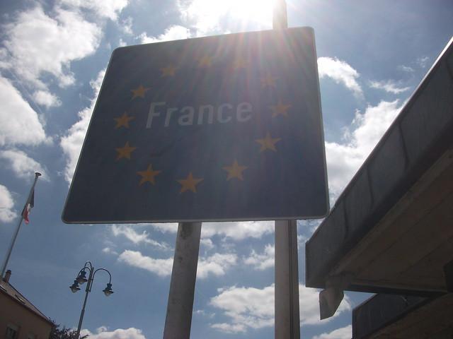 Entering France