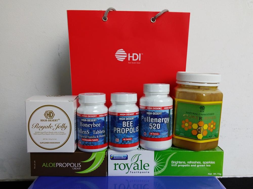 Terjual Sedia Madu Murni Propolis Royal Jelly Bee Pollen High