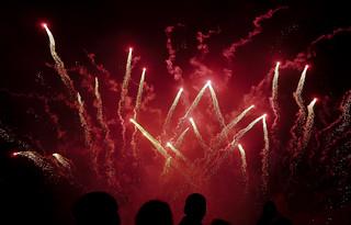 Wallingford Fireworks 2014