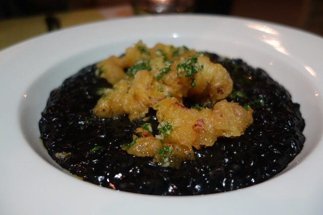 Squid Ink Paella at UNA