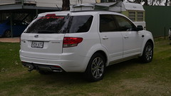 saab 9-4x(0.0), automobile(1.0), automotive exterior(1.0), sport utility vehicle(1.0), mini sport utility vehicle(1.0), wheel(1.0), vehicle(1.0), compact sport utility vehicle(1.0), crossover suv(1.0), bumper(1.0), ford(1.0), land vehicle(1.0),