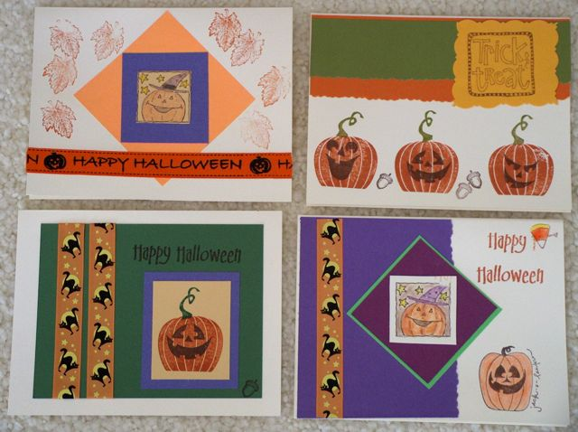 Halloween cards 2013