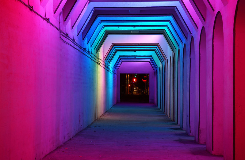 Light Tunnel 1