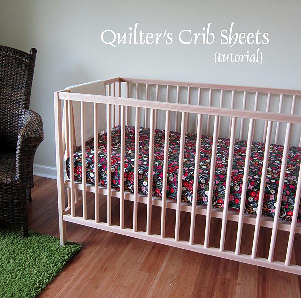 Quilter's Crib Sheet tutorial