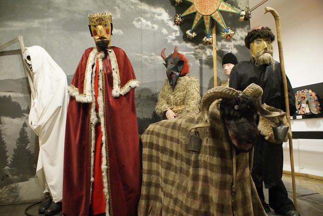 """Tradition des """"visiteurs"""" de noel"""