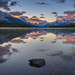 Maligne Lake Reflections