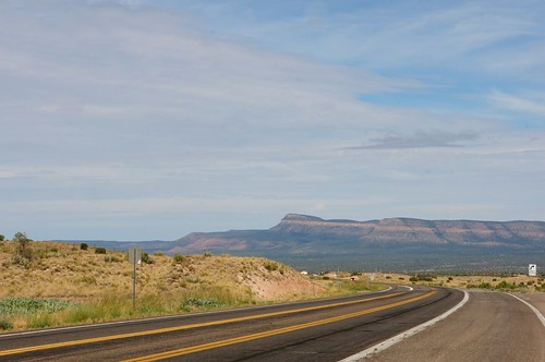 Route 66 west, Peach Springs, Arizona