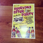 Two Roads Brewery sponsored Beervana After Party @rogueisland Friday, October 17th 10:30pm-12:30am. 6 @tworoadsbrewing featured beers, free swag, and beer inspired menu! Hope to see everyone after Beervana Friday night!