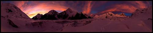 panorama landscape republic doug tian panoramic glacier khan kyrgyz shan kyrgyzstan tien tengri inylchek engilchek kofsky mountainscpaes