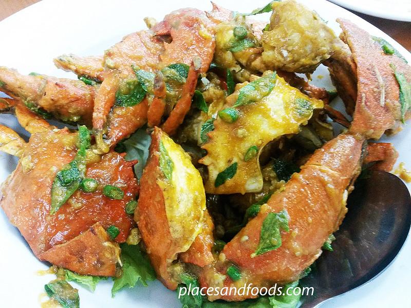 super aroma seafood salted egg crab