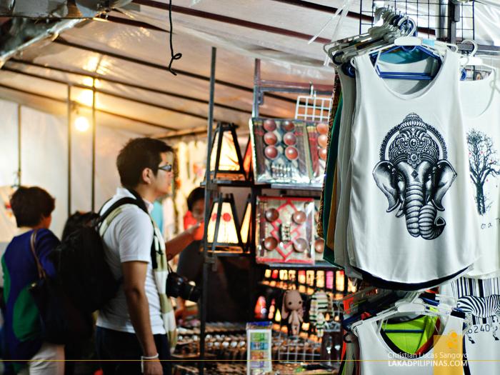 Make-Shift Stalls at Chiang Mai Night Bazaar