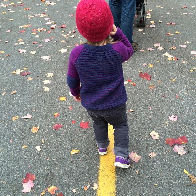 """""""I walk the line, mama!"""""""