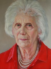 Mrs Kleeman - Oil - Portrait by John Glover