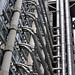 Confusion - Lloyd's Building services piping - City of London