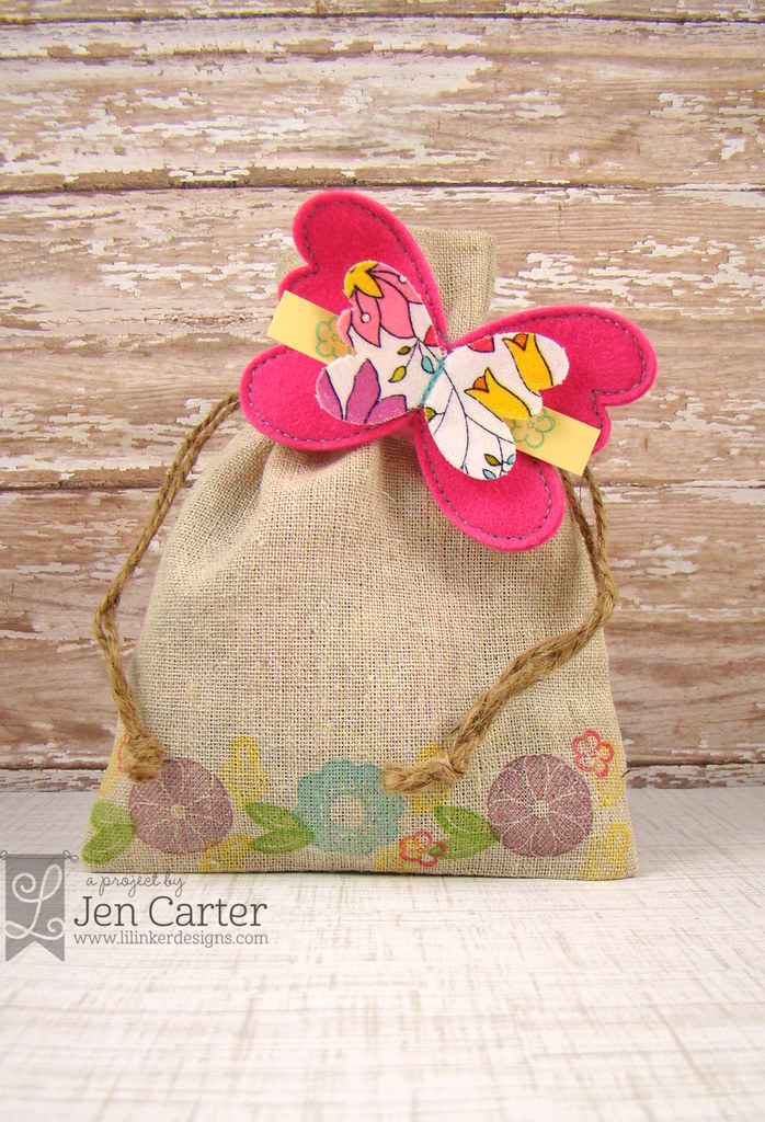 Jen Carter Butterfly Clip Message