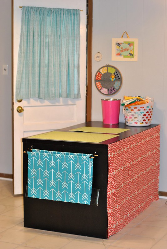 Basement Craft Room Makeover