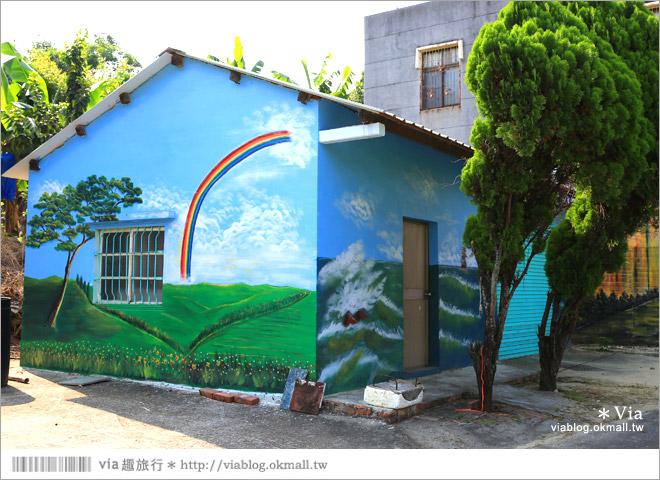 【關廟彩繪村】新光里彩繪村~在北寮老街裡散步‧遇見全台最藝術風味的彩繪村16