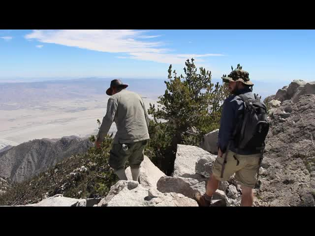 455 Video of Climbing San Jacinto Peak from Folly Peak