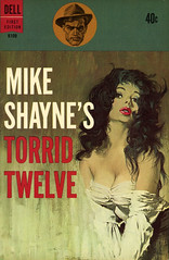 Dell Books K109 - Leo Margulies - Mike Shayne's Torrid Twelve
