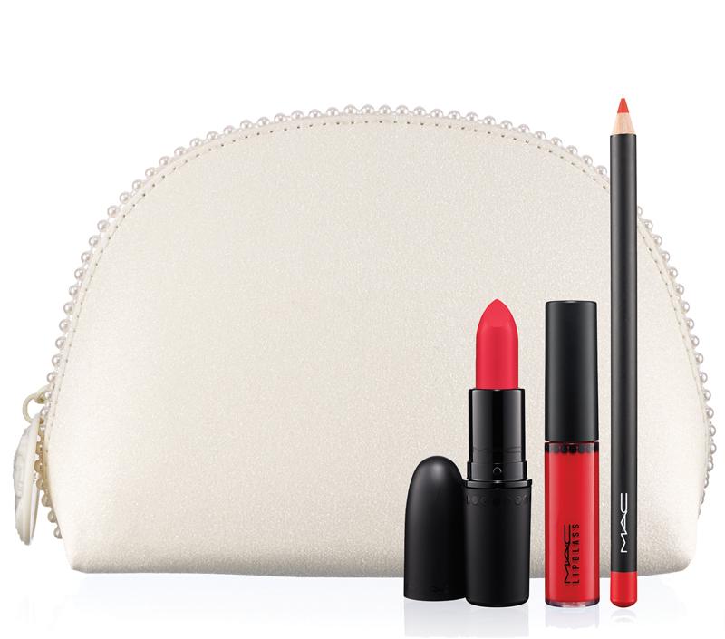 KEEPSAKES LIP LOOK BAG Red Lip Bag