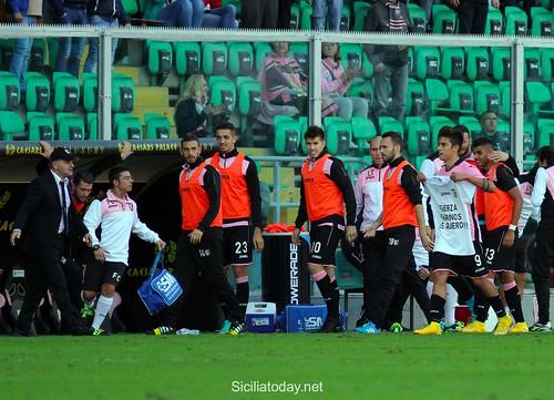 Palermo, l'Udinese ferma i rosa sull'1-1$