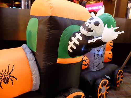TGF Halloween display