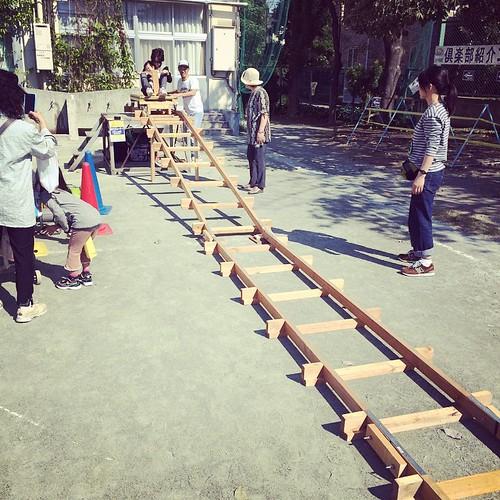 トロッコ滑り台