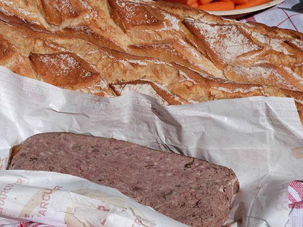 pain et pâté