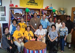 Hui Lokahi O'Aina Haina Seniors Visit
